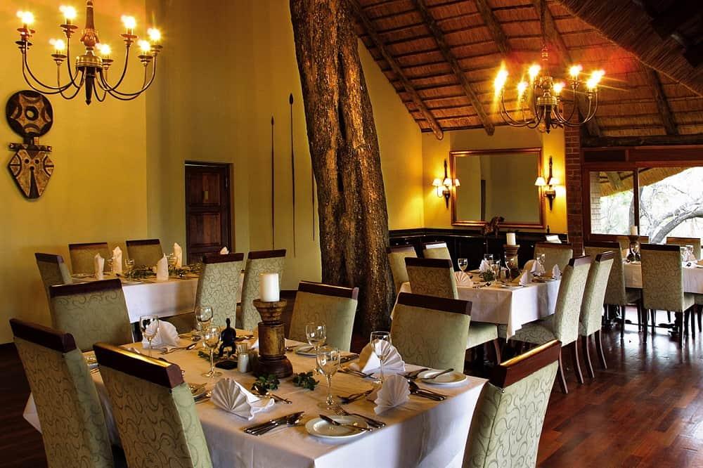 Imbali Safari Lodge Restaurant