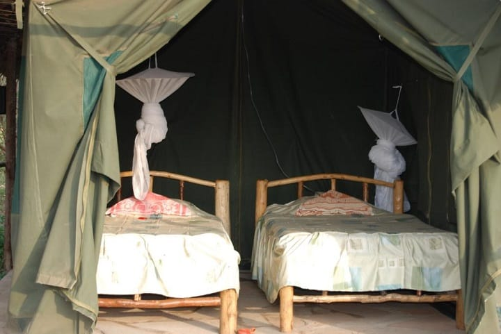 Inside A Budget Tent