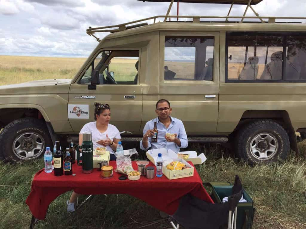 Lunch Box At Serengeti