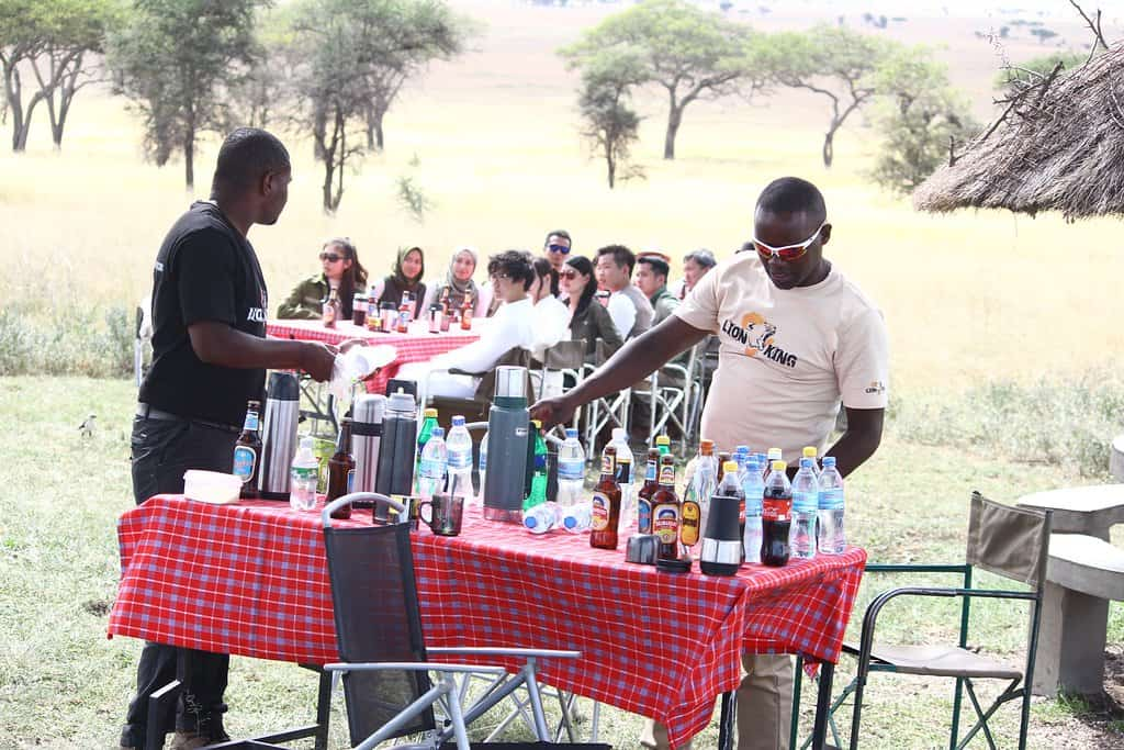 Picnic Lunch In Serengeti (1)