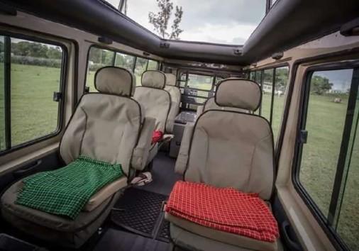 Safari Jeep Interior Copy