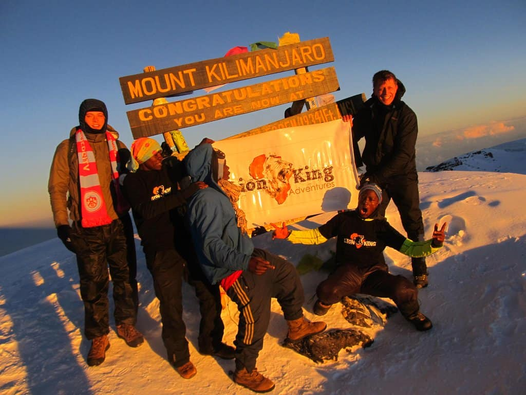 Summit At Kilimanjaro