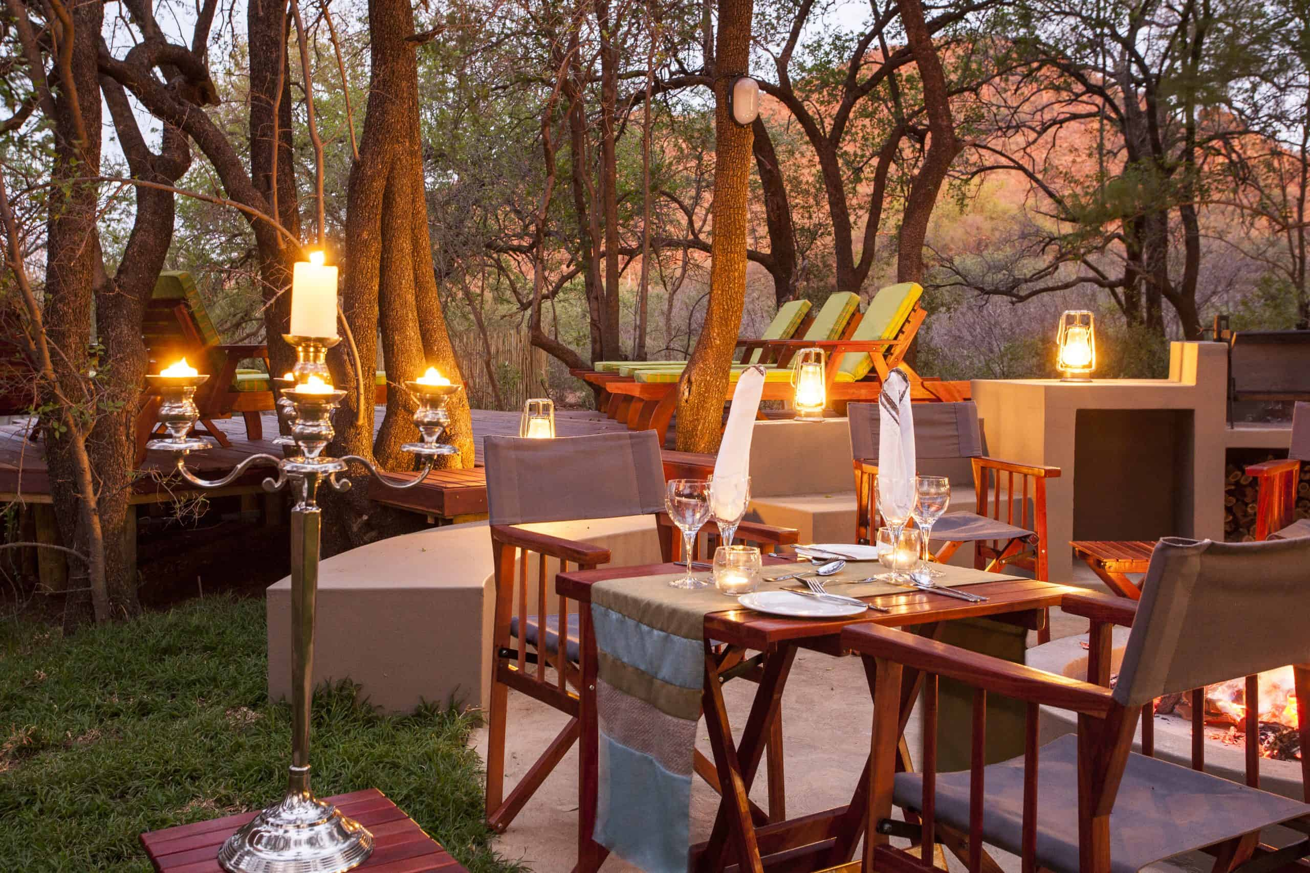 Tambuti Lodge Dining 20