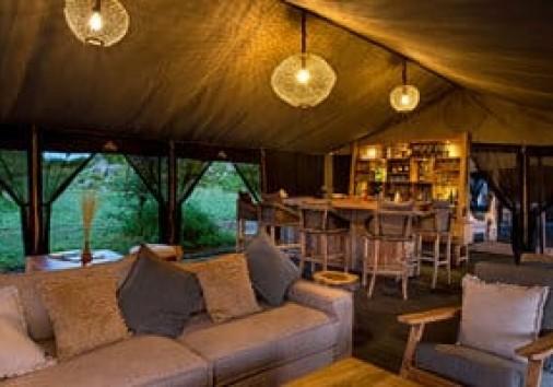 Tented Camp in Serengeti