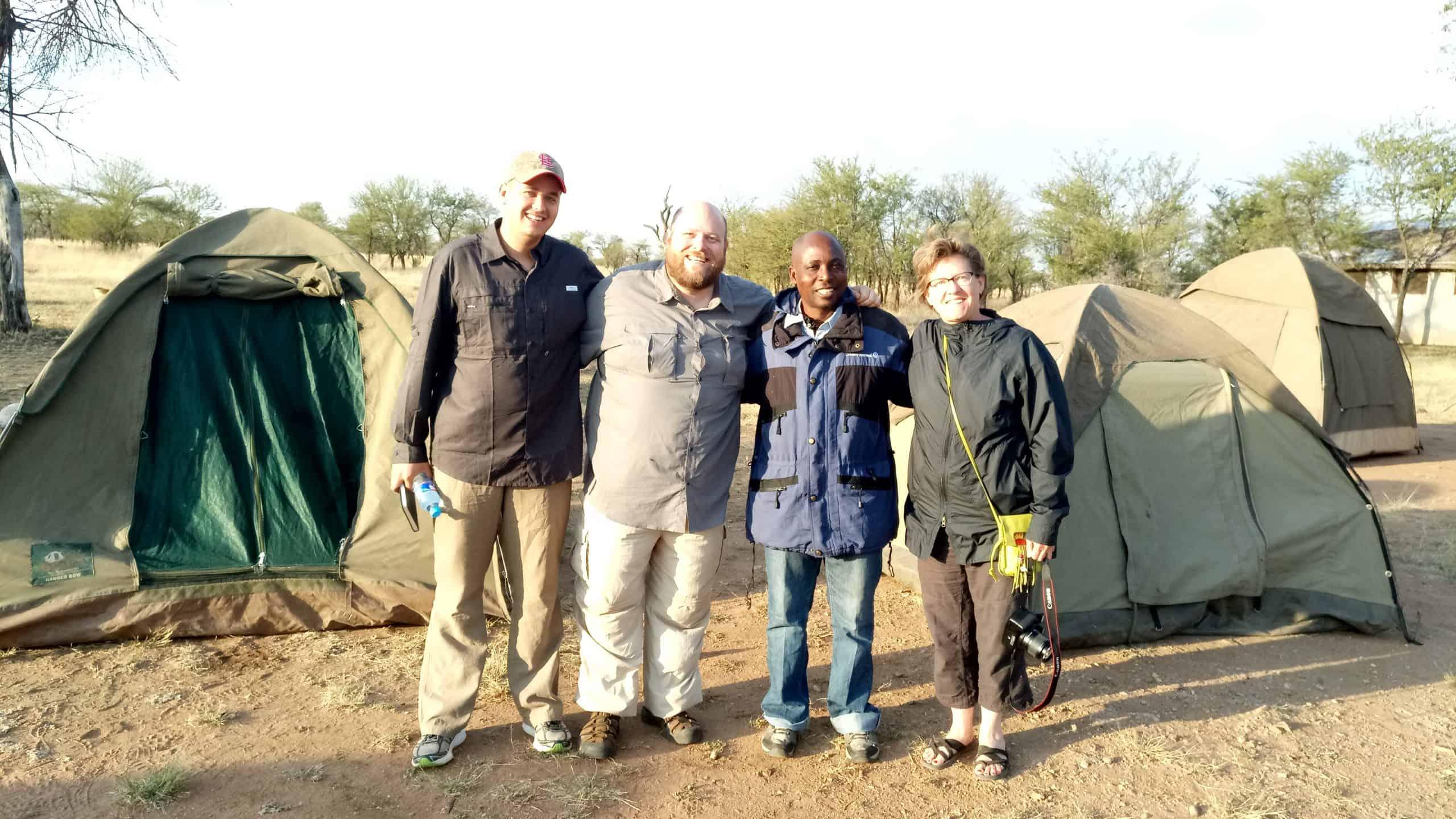 Camping Safari In Serengeti