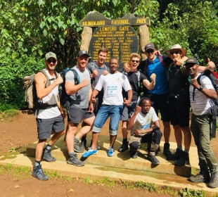 9-Day Kilimanjaro Trek Lemosho Route