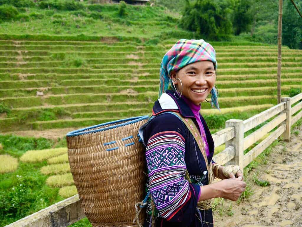 Hmong Women Sapa Trekking Vietnam