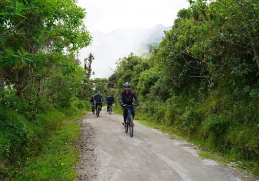 Mindo Biking
