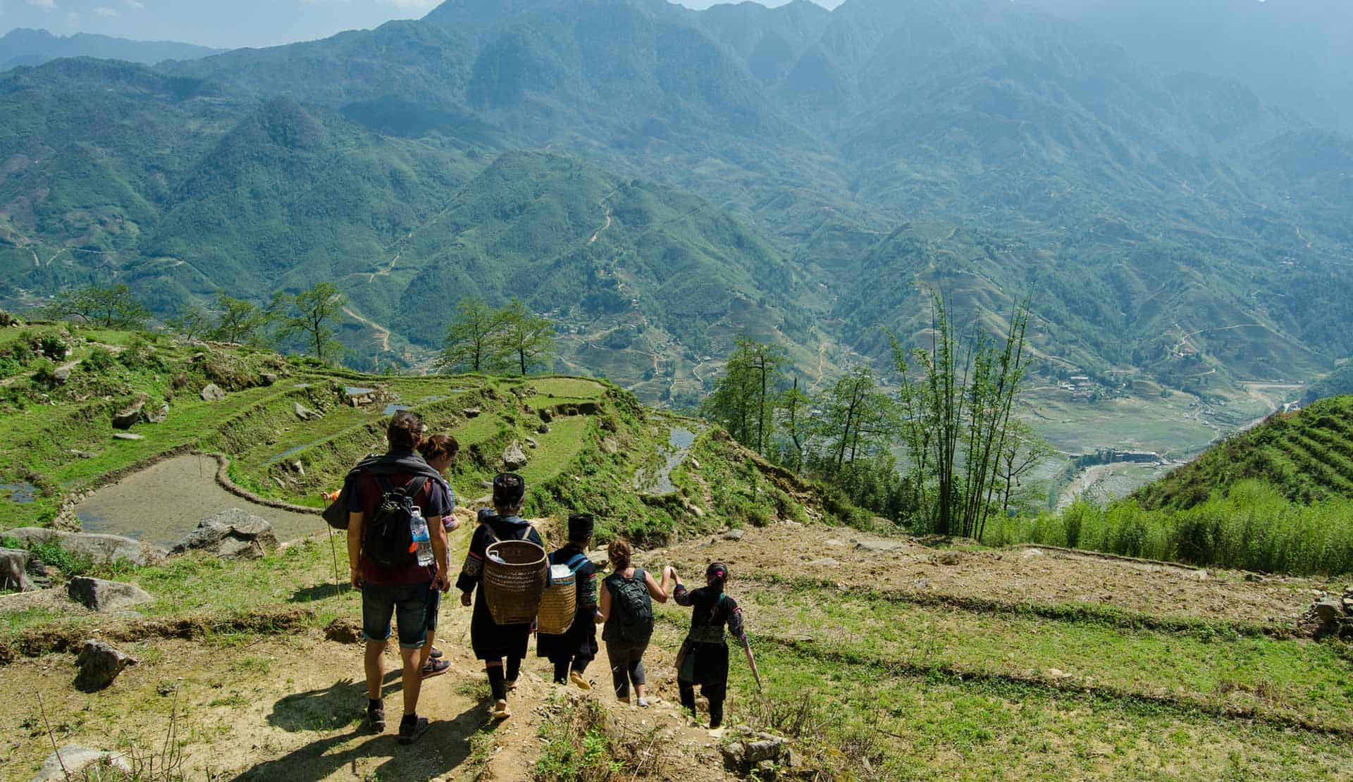 Sapa Trekking Mountains Vietnam