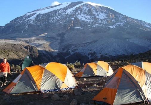 361084 Mountain Tents Mount Kilimanjaro