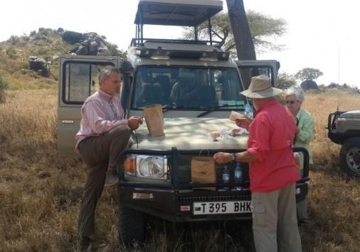 Bush Lunch In Serengeti 2