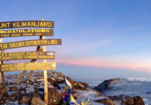 Climbing Kilimanjaro – An Unforgettable Feeling Standing On The