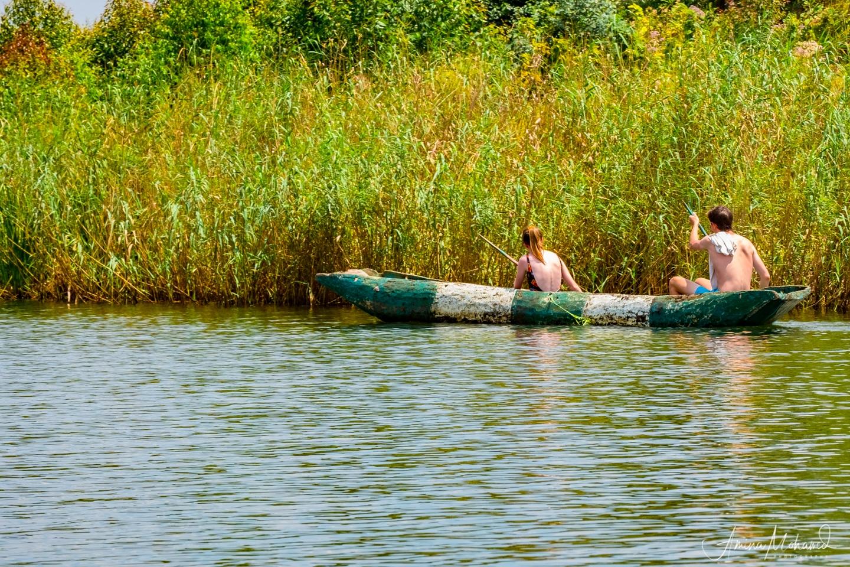 Canoeing on Lake Bunyoni, Uganda @Amina Mohamed Photography