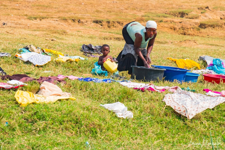 Community living on the shores of Lake Bunyoni, Uganda @Amina Mohamed Photography