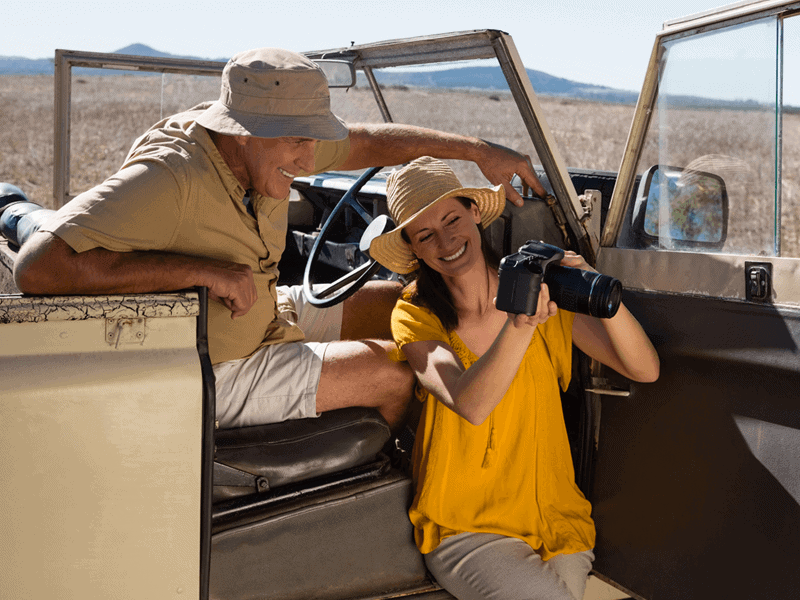 Don't Be Afraid to Talk to Your Safari Guide