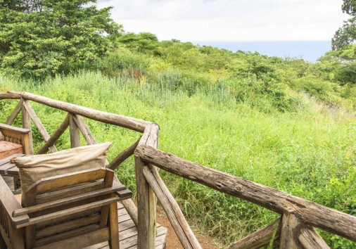 Escarpment Luxury Lodge Terrace
