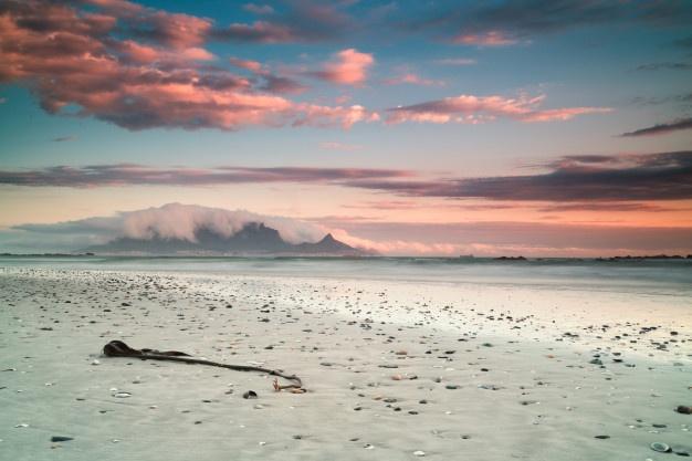 Beautiful Scenery Beaches in Cape Town