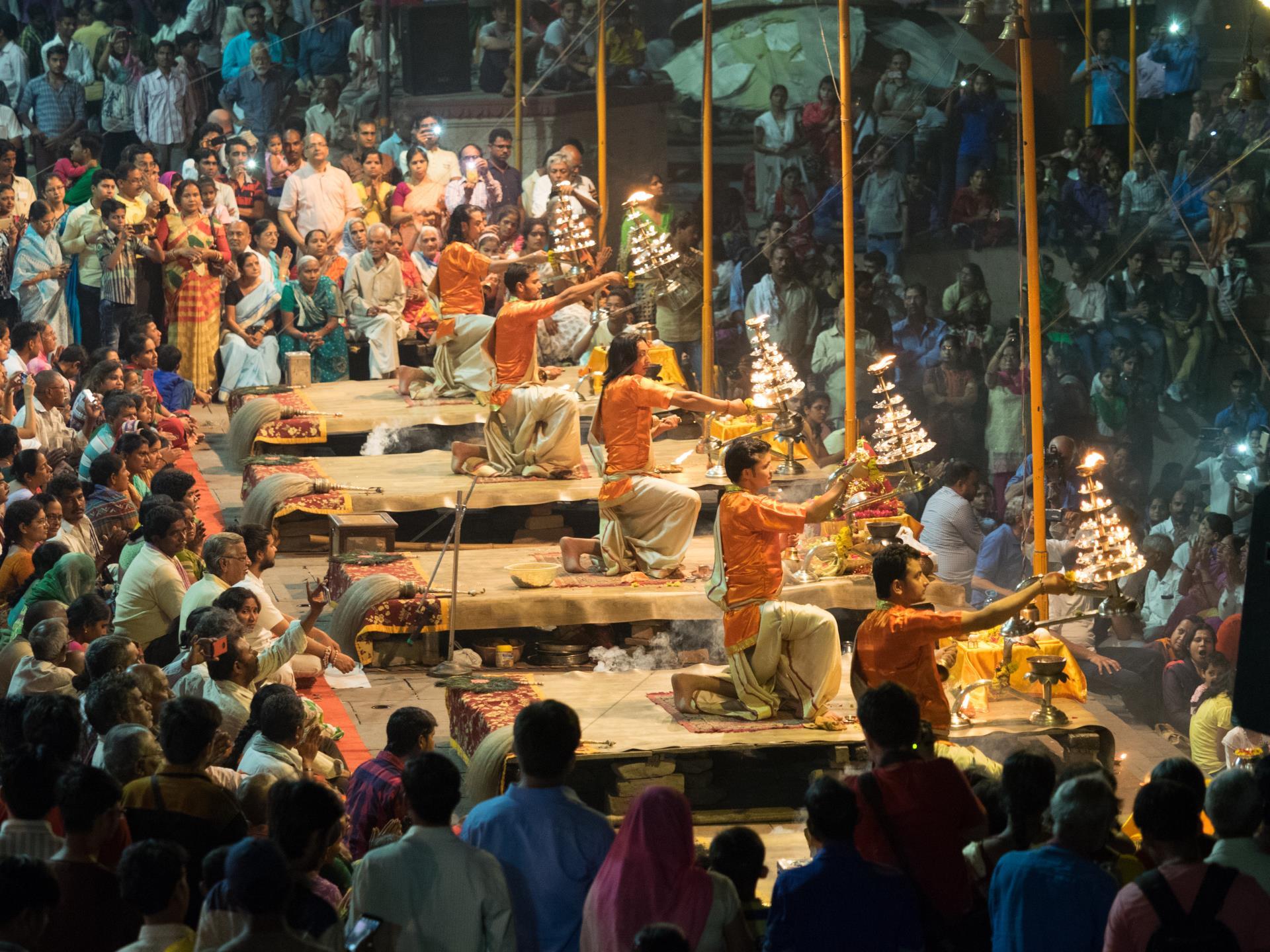 Varanasi Ganga Aarti 1