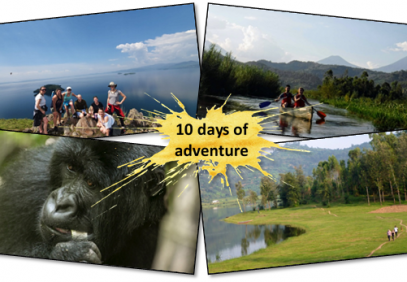 10-Day Trek, Kayak, Explore & See Gorillas in Rwanda