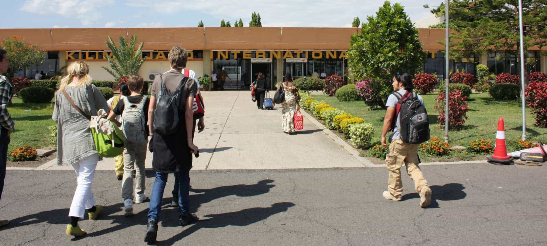 Arrival At Kilimajaro Airport