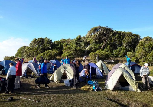 Guests Geech Camp Site