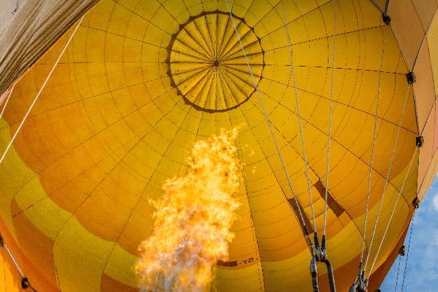 Take to the Skies on a Hot Air Balloon Safari