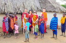 Maasai Village & Kikuletwa Hot Springs