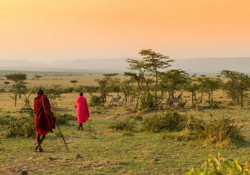 Bush Walk With Maasais In Kenya