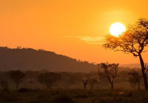 Singita Serengeti House Sunset1