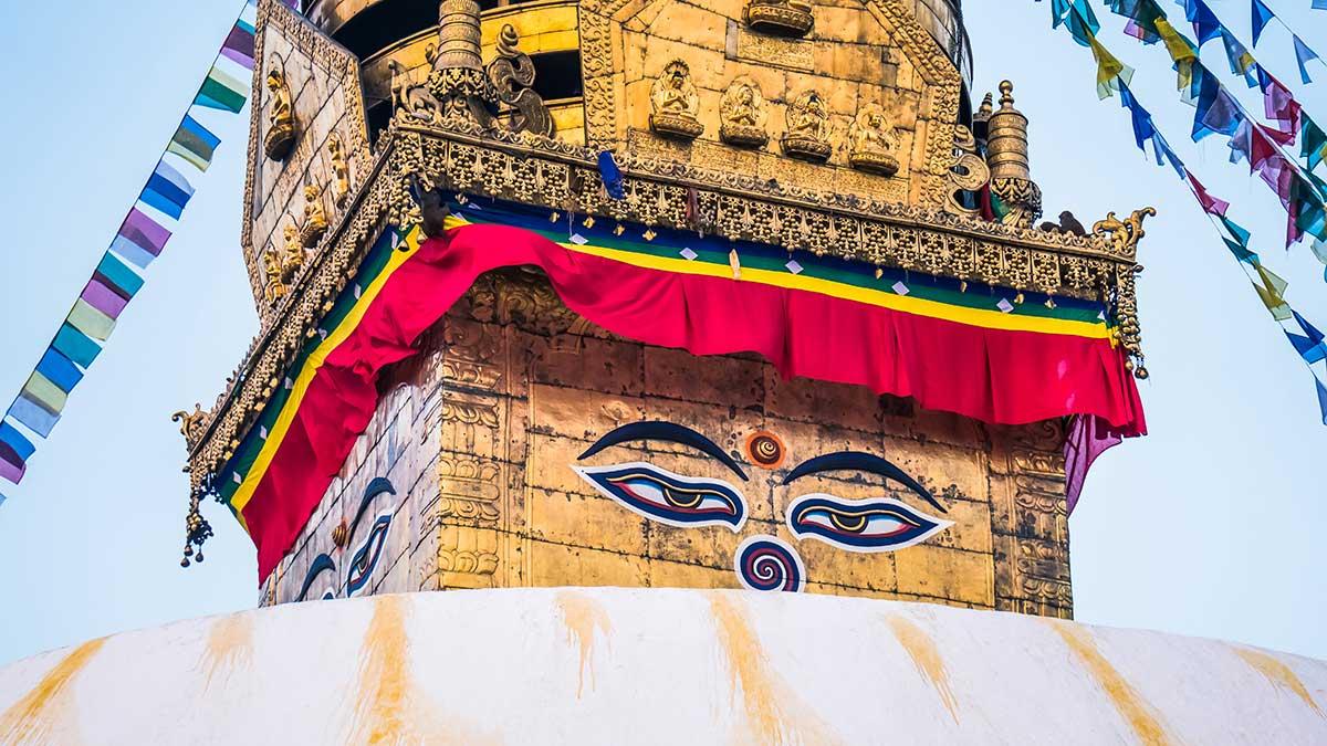 Swyambhu Stupa Kathamndu Nepal Vista Tour