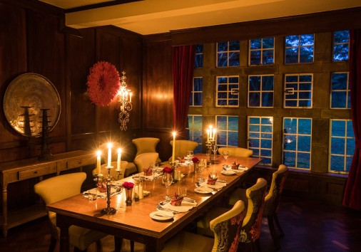 Girraffe Manor The Dining Room At Giraffe