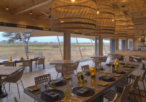Namiri Plains Main Area Dining