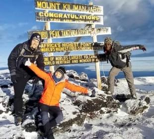 8-Days Marangu Route Climbing Kilimanjaro