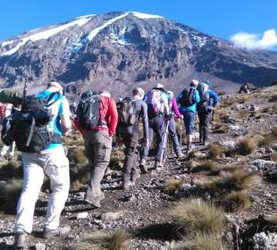 5 Days Marangu Route Mount Kilimanjaro Climbing