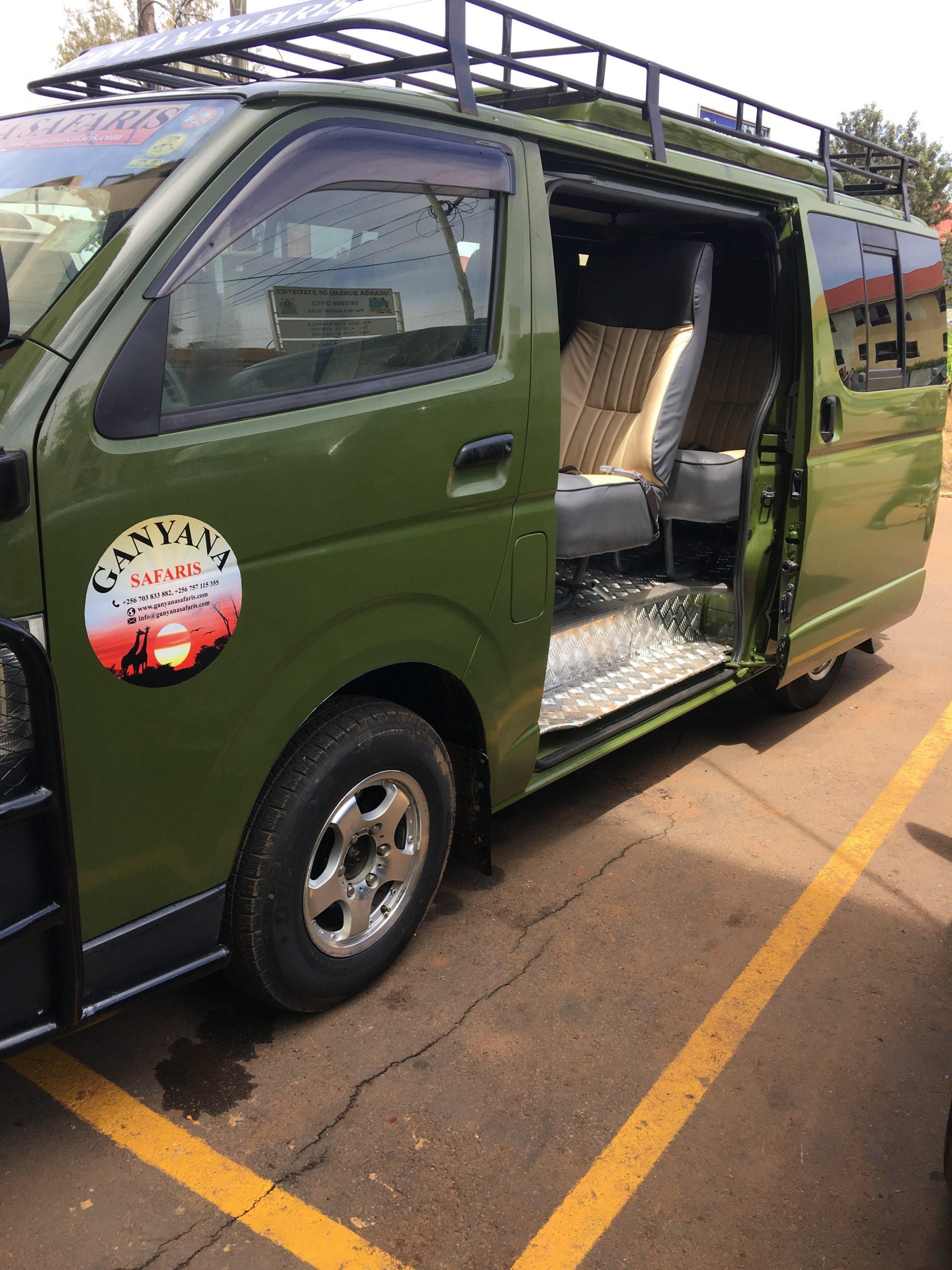 Safari Van Interior