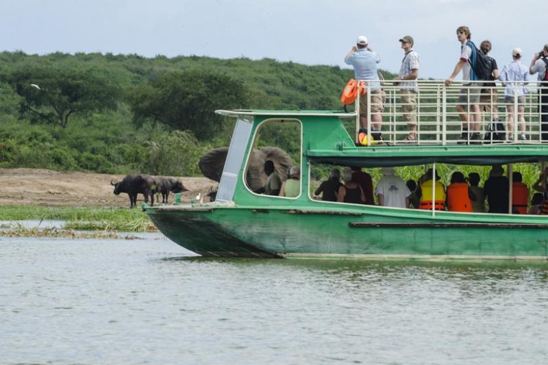 Kazinga Channel Boat Cruise