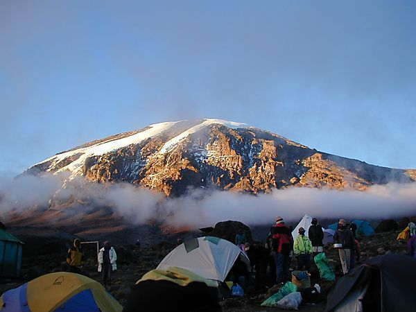 Stand Karanga Camp Kilimanjaro Tanzania 1213368135