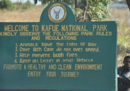 Kafue National Park Welcome