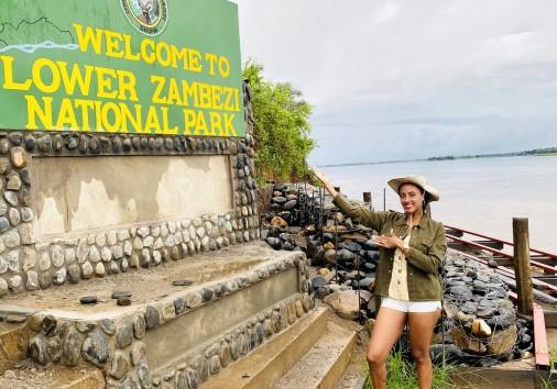 Lower Zambezi Sign