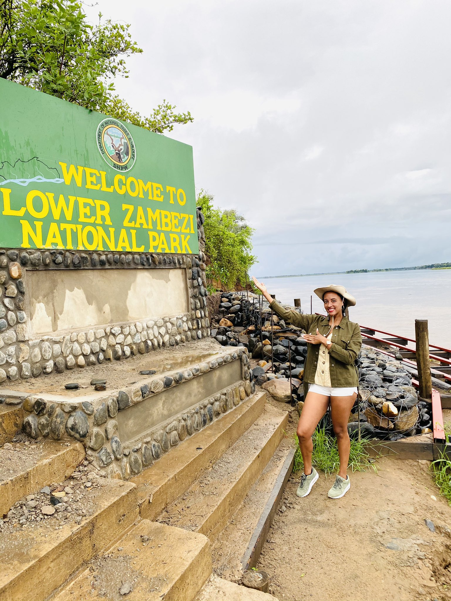 Lower Zambezi Sign