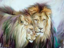 Wildlife Lion Art
