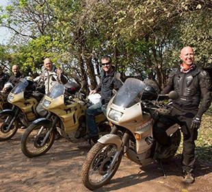 24-Day Zambia & Botswana Motorcycle Safari