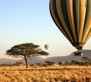 8 Days Serengeti Balloon Safari