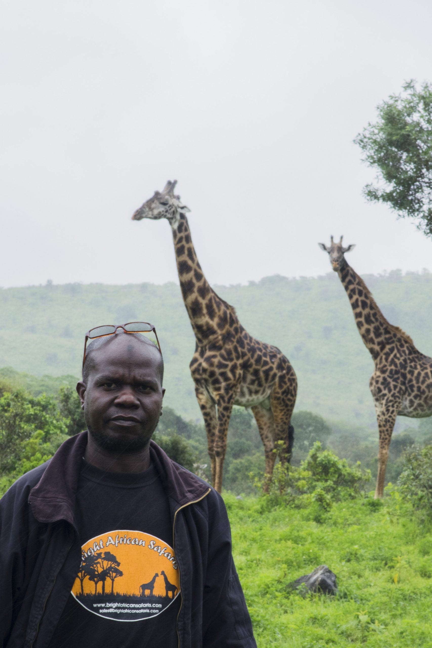 Masatu And Giraffe