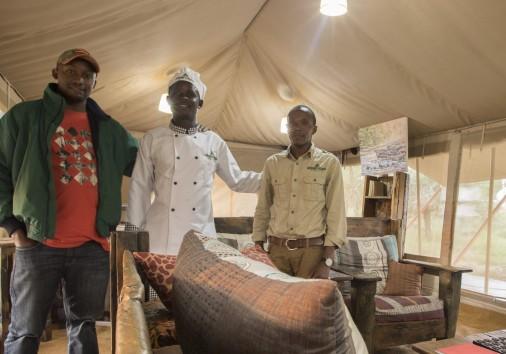 Msangi With Staff
