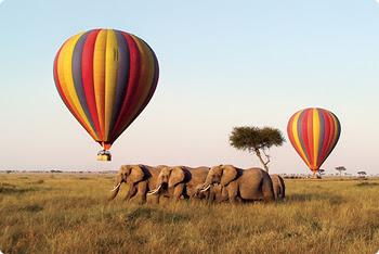 Balloon Ride In Tanzania