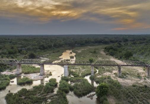 200707164444 Kruger Shalati The Train On The Bridge Aerial View