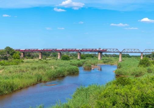 Kruger Shalati The Train On The Bridge