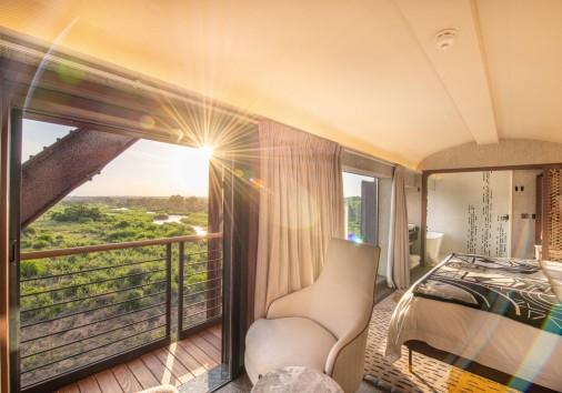 Kruger Shalati Train Carriage Room