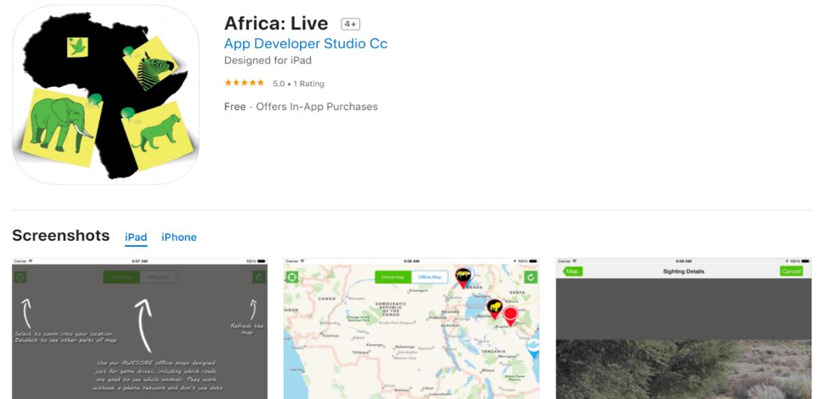 Africa: Live App